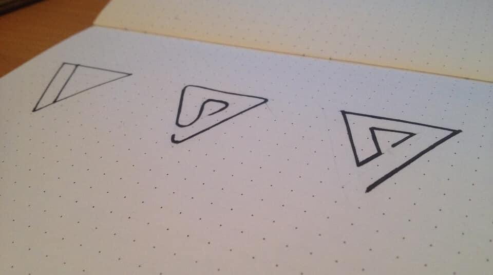 Варианты логотипа ООО «Набла»