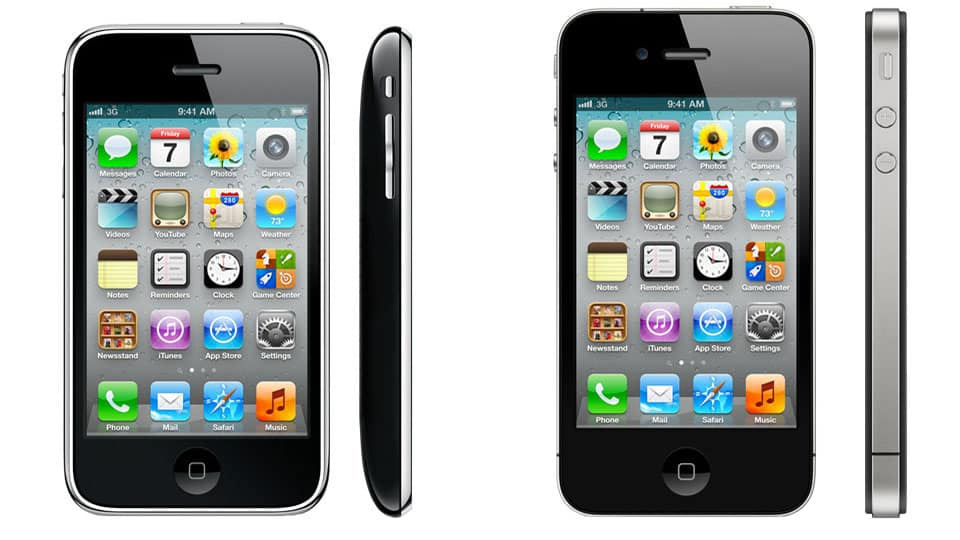 Айфон 3ГС и Айфон 4