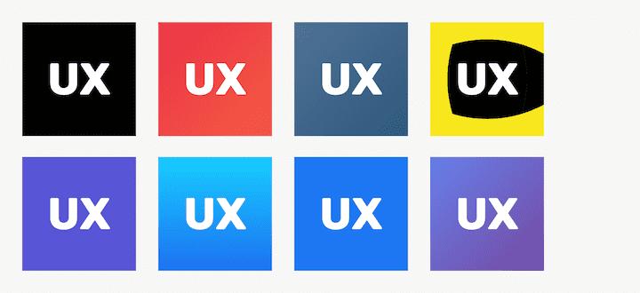 Цветные варианты иконки