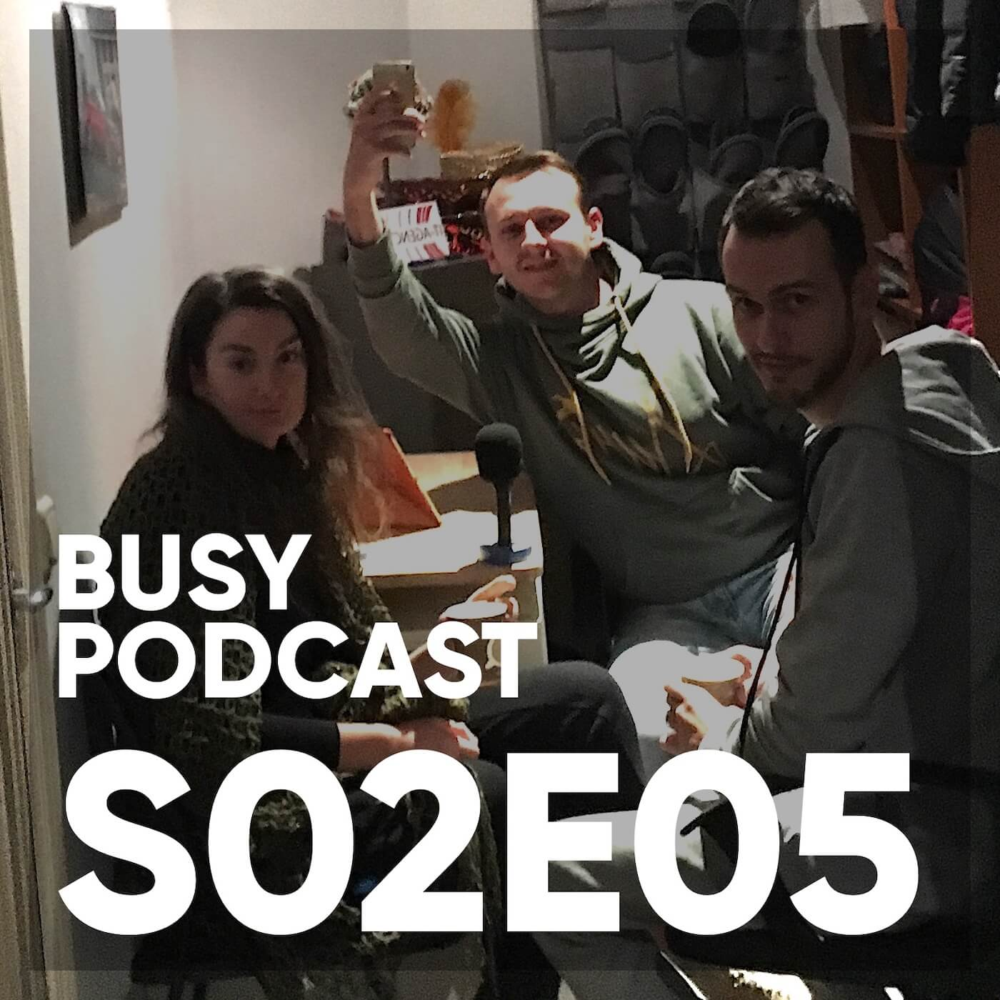 Busy Podcast S02E05: развитие дизайнера в команде на примере IT-Agency