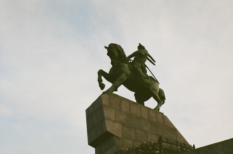 Памятник Салавату Юлаеву — главная достопримечательность Уфы