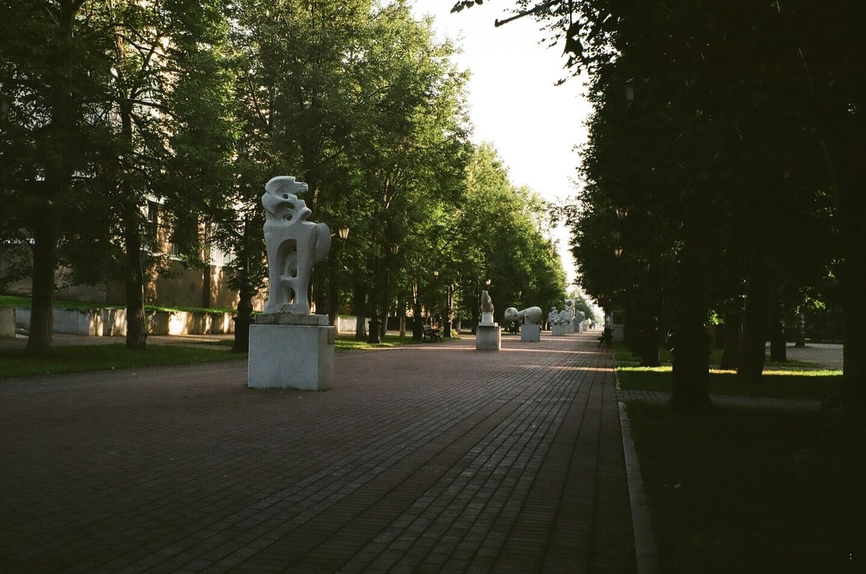 Аллея современной городской скульптуры «ArtTerria»